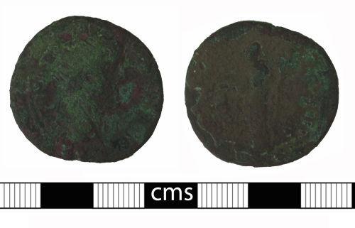 BERK-ACBF56: Roman coin: Sestertius of Antoninus Pius