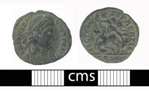 BERK-E868D6: Roman coin: Nummus of Constantius II