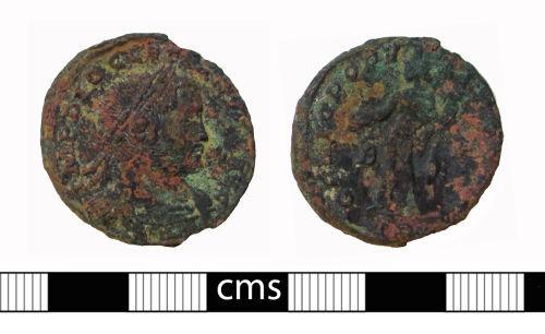 BERK-F17471: Roman coin: Nummus of Diocletian