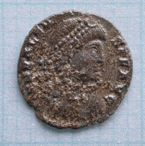 BERK-A1C6D7: Roman coin: Nummus of Valens