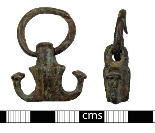 A resized image of Roman vessel: Oil flask swivel