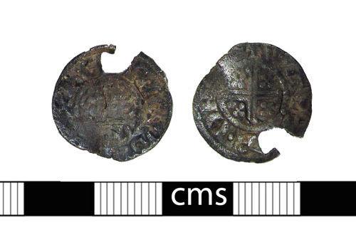 BERK-548B47: Medieval coin: Penny of John