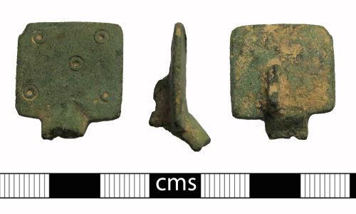 BERK-05016C: Early-medieval brooch: Small-long brooch