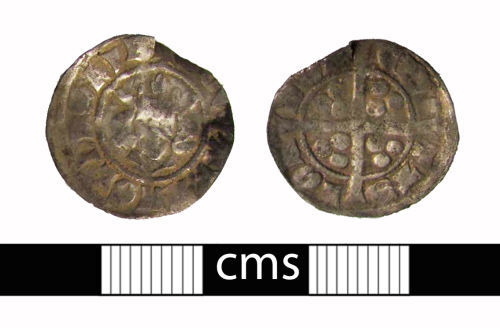 BERK-0A85D2: Medieval coin: Penny of Edward I