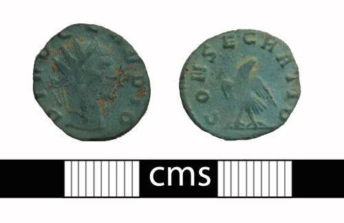 BERK-0B42E5: Roman coin: Posthumous issue radiate of Claudius II
