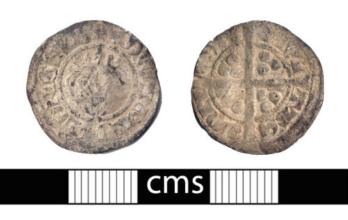 A resized image of Medieval coin: Panny of Edward I