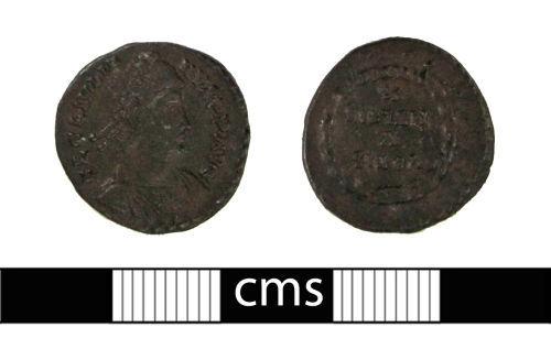 BERK-57CD9B: Roman coin: Siliqua of Julian II