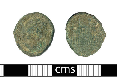 BERK-6D0A17: Roman coin: Nummus of Constantine I