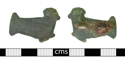 BERK-9B6095: Early-medieval brooch: Bird brooch