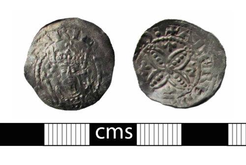 BERK-3E5F51: Medieval coin: Penny of Henry I