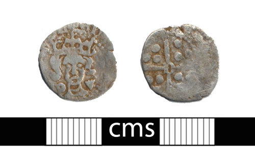 BERK-09B816: Medieval coin: Penny of Edward IV