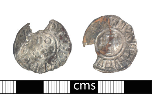 BERK-93C017: Early-medieval coin: Penny of Aethelwulf