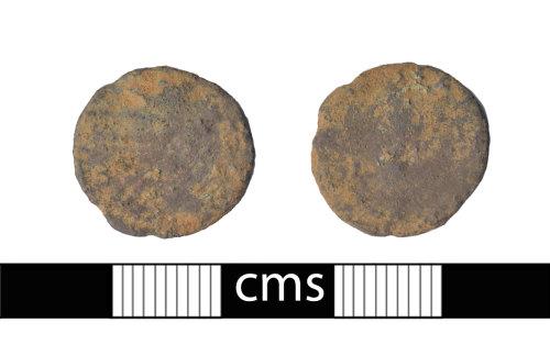 BERK-98FF2E: Roman coin: Barbarous radiate of Tetricus II