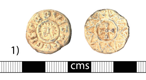 A resized image of Early-medieval token: Lead token or imitation coin (1)