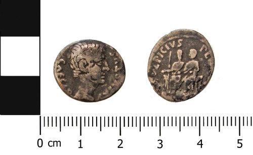 BERK-AB5E43: Roman coin: Republican denarius of Augustus