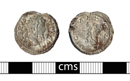 BERK-39727B: Roman coin: Denarius of Septimius Severus