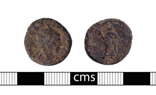 BERK-325E0C: Roman coin: Radiate of Tetricus II