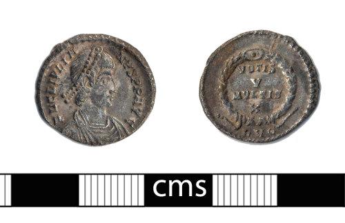 BERK-C272B2: Roman coin: Siliqua of Julian II