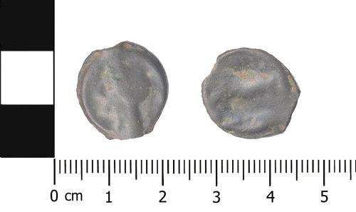 BERK-13CDA2: Iron Age coin: Thurrock potin