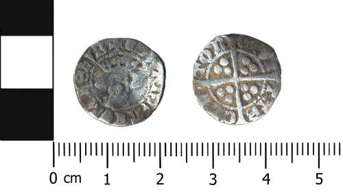 BERK-6AF0F5: Medieval coin: Penny of Edward I