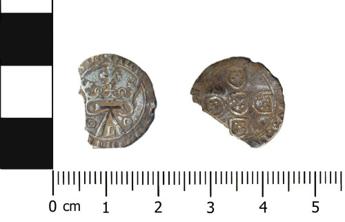 BERK-940C60: Medeival coin: Coin of Alfonso V of Portugal