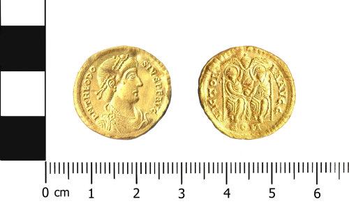 BERK-2DE64C: Roman coin: Solidus of Theodosius I