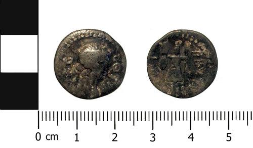 A resized image of Roman coin: Republican denarius of Brutus