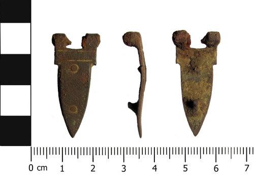 BERK-56D1C8: Post-medieval book fitting: Book hinge
