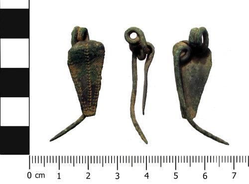 BERK-576C8D: Iron Age brooch: Nauheim derivative