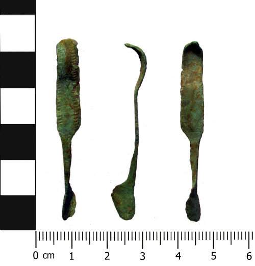 A resized image of Iron Age brooch: Nauheim derivative