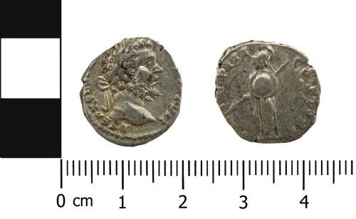 BERK-9F3844: Roman coin: Denarius of Septimius Severus