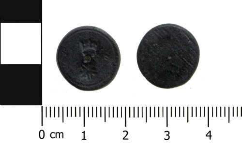 BERK-F539EC: Medieval coin weight: Half ryal weight