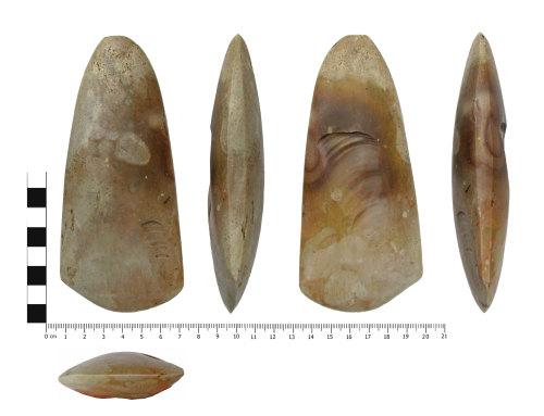 BERK-713A80: Neolithic axe: Polished axe