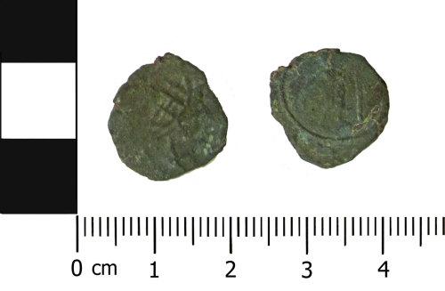 OXON-52F4D2: Roman coin: Barbarous radiate