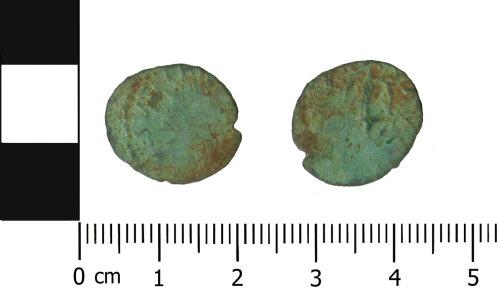 OXON-54BF23: Roman coin: Barbarous radiate