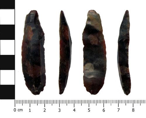 OXON-7C4F41: Palaeolithic blade: Bladelet