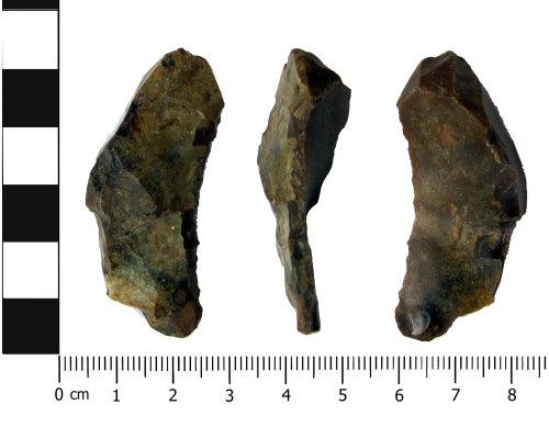 OXON-7E2287: Neolithic debitage: Plunging flake
