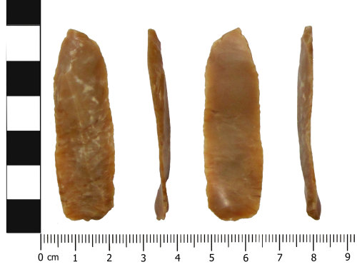 OXON-7F3AD7: Mesolithic blade: Piercer