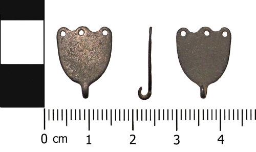 OXON-B221D6: Early-medieval dress fastener: Dress hook