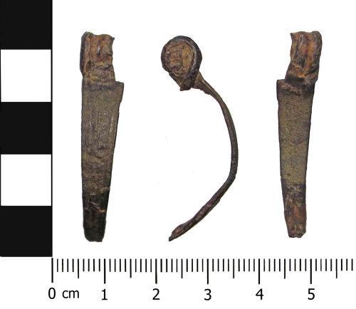 OXON-B246A5: Iron Age brooch: Nauheim derivative