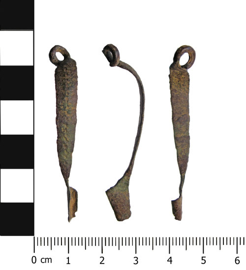 OXON-F60556: Iron Age brooch: Nauheim derivative