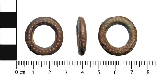 OXON-F6C9D0: Iron Age ring: Decorated ring