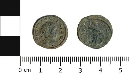 OXON-F4C79A: Roman coin: Nummus of Constantine I