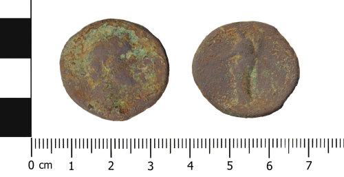 OXON-6DBE36: Roman coin: Dupondius