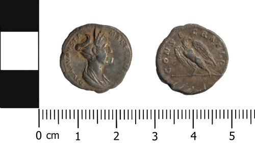 OXON-6DF3B7: Roman coin: Denarius of Marciana