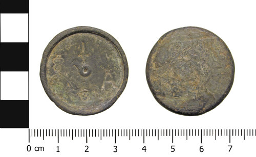 OXON-135AD0: Post-medieval weight: trade weight