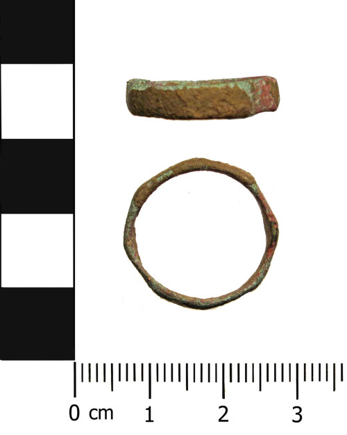 OXON-568FBA: Roman finger ring: Finger ring