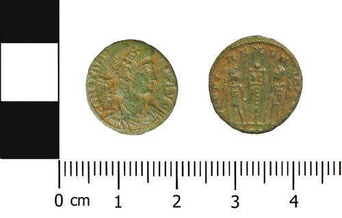 OXON-571169: Roman coin: Nummus of Constans