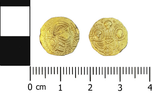 OXON-48CF79: Early-medieval coin: Thrysma