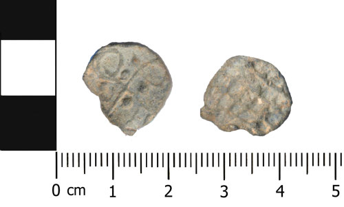 OXON-8DD56F: Post-medieval token: Lead token